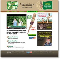 Worm Gitter Website