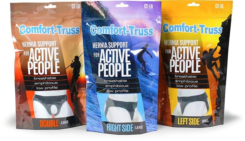 Comfort-Truss sport health packaging