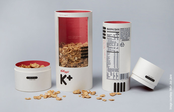 Mun Joo Jane - Kellogg's cereal packaging redesign