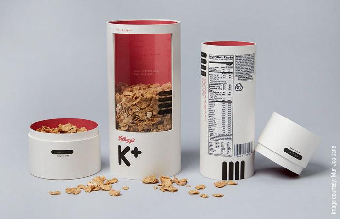 Mun Joo Jane - Kellogg's cereal packaging redesign