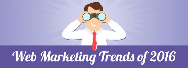 2016 Web Marketing Trends