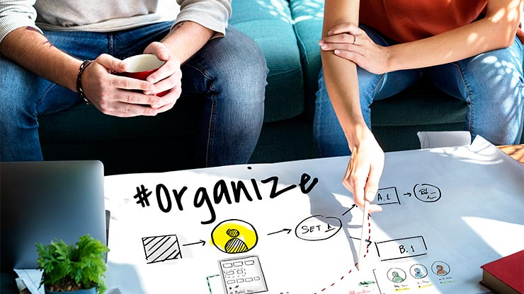 Organize and plan you project