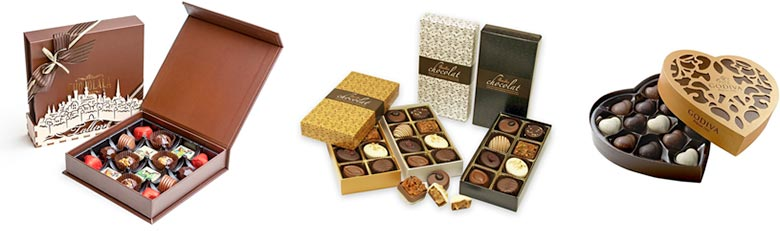 Luxury chocolate and gift packaging