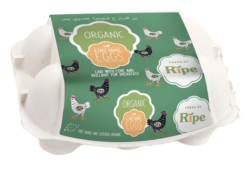 egg package RV-10262-RIPE-ORGANIC-ORGANIC-EGGS-BOX-6PCS-1