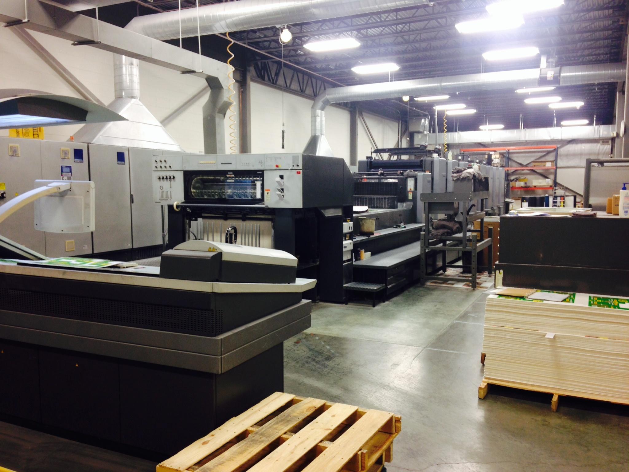 NuPak Printing Facility