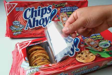 resealable cookie packagin