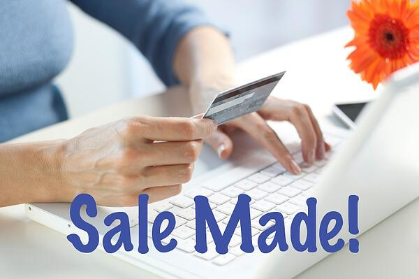 online sale completed