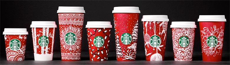 Starbucks special edition cups