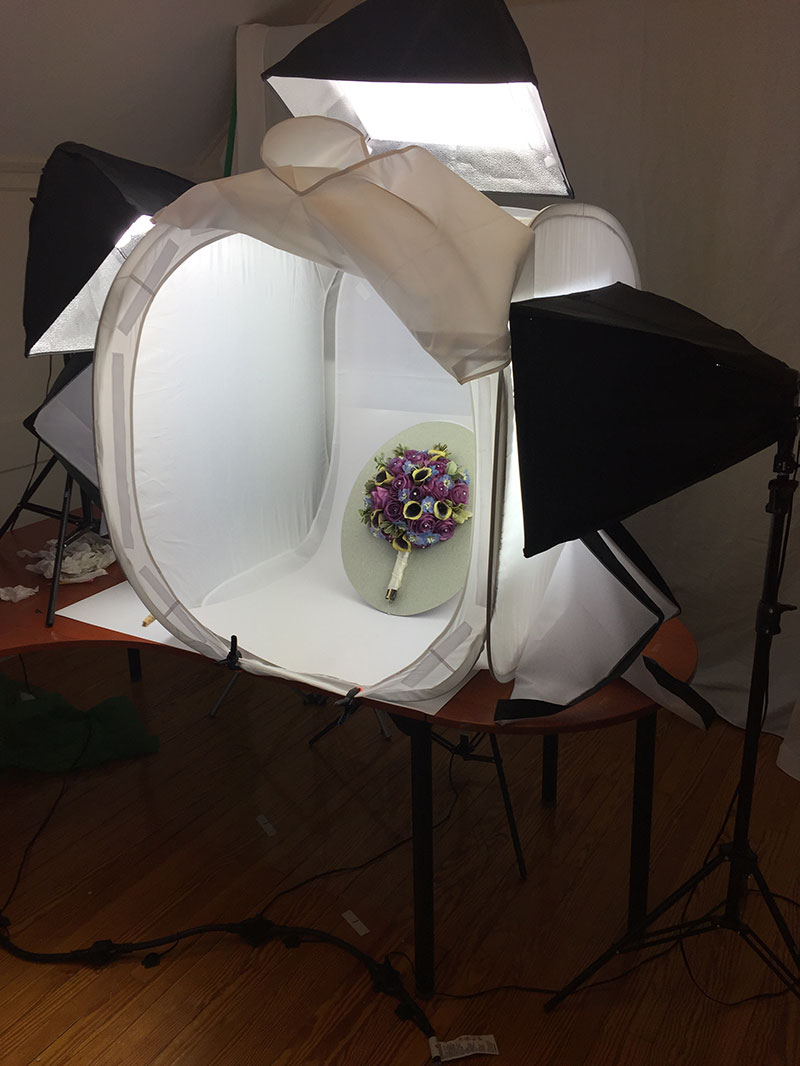 studio-setup-with-photo-tent-for-product-shot