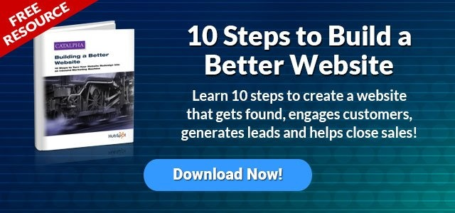 Download Our Free Resource ---> 10 Steps to Build a BEtter Website.