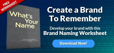 Download --> What's Your Name Brand - Brand Naming Worksheet